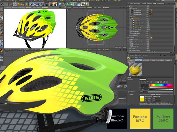 Casestudy Design ABUS Fahrradhelm